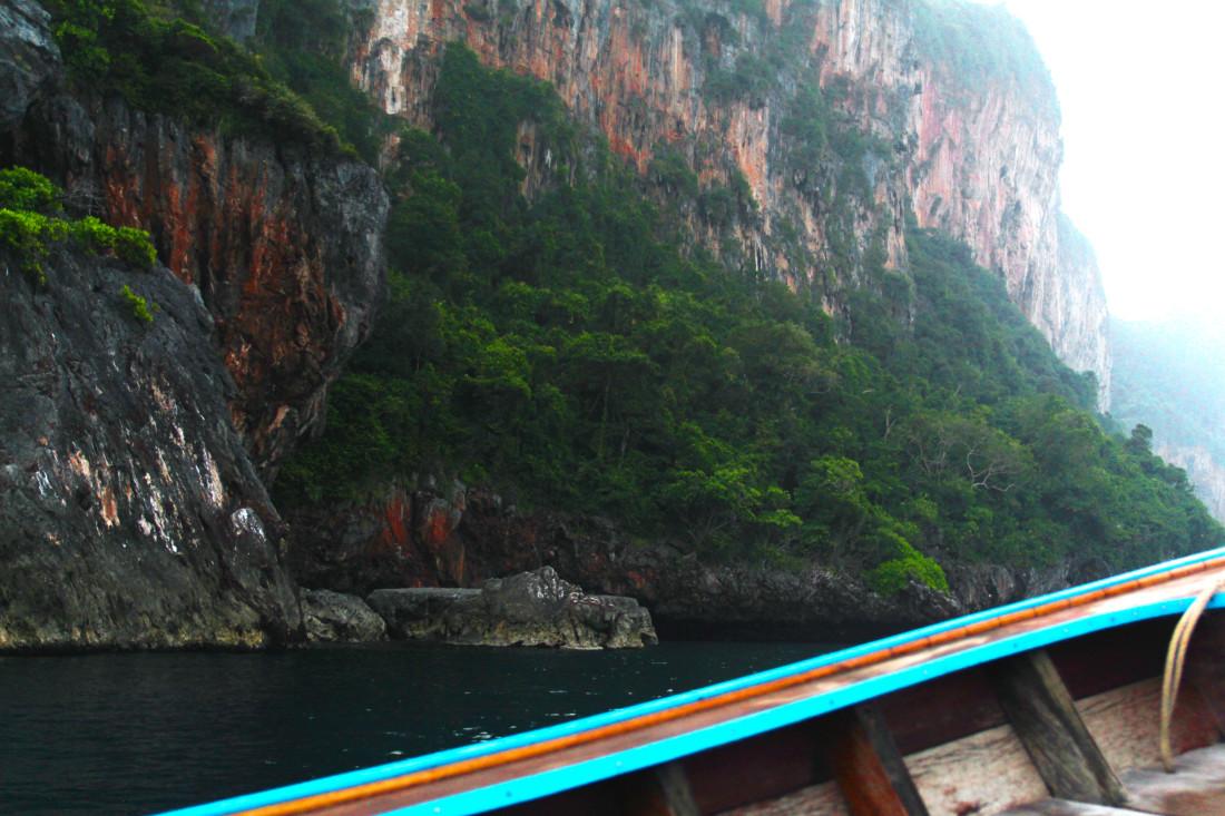 thailand boat koh phi phi
